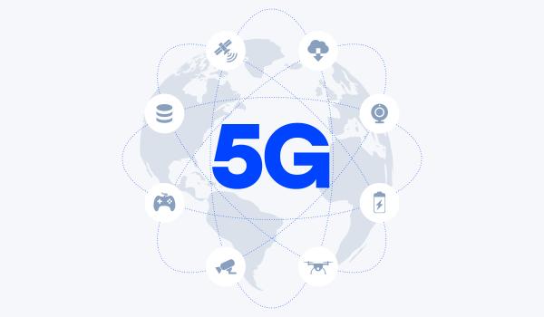 5G Network worldwire