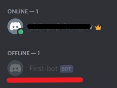 Bot were added to the Discord server