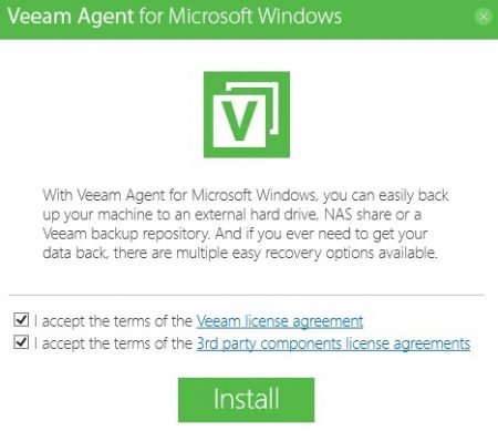 How to Backup Windows Server with Veeam Backup Agent