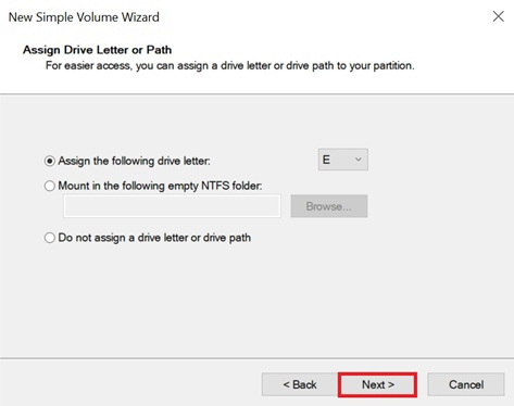 Adding a Volume and Creating Partitions in Windows